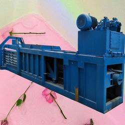 小型卧式废纸板液压打包机厂家图片