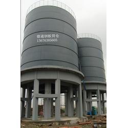 大型钢板仓安装|大型钢板仓|山东德通钢板仓(查看)图片