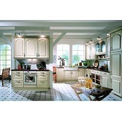 佳木斯实木橱柜-实木橱柜效果-品豪家具图片