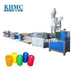 专业生产塑料圆丝拉丝机,渔网线拉丝机,扫把拉丝机械图片