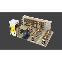 天宇展示上心、株洲家用电器展示柜、家用电器展示柜订做图片