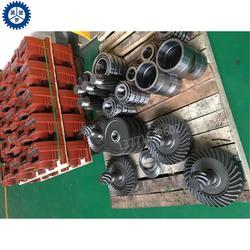 FAZ37法兰式斜齿轮减速机电机型号Y63电机功率0.15KW减速机配件图片