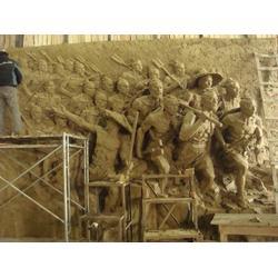 石材浮雕-启龙雕塑-雕刻人生-齐齐哈尔浮雕图片