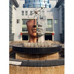 白钢雕塑-启龙雕塑-品质如一-白钢雕塑订制图片