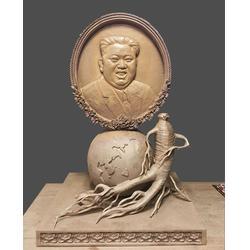 黑河铸铜雕塑-铸铜肖像雕塑-启龙雕塑图片