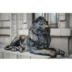 铸铜雕塑公司-启龙雕塑-创意美景-牡丹江铸铜雕塑图片