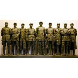 铸铜雕塑哪家好-启龙雕塑-创意美景-通辽铸铜雕塑图片