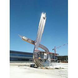 白钢雕塑公司-通辽白钢雕塑-启龙雕塑-精美工艺图片