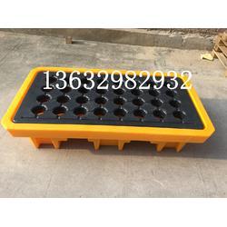 聚乙烯 4桶 2桶防滲漏托盤化學品二次容器接油盤圖片