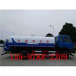 东风天锦12吨洒水车在哪买图片