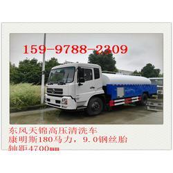 东风天锦10吨高压清洗车图片