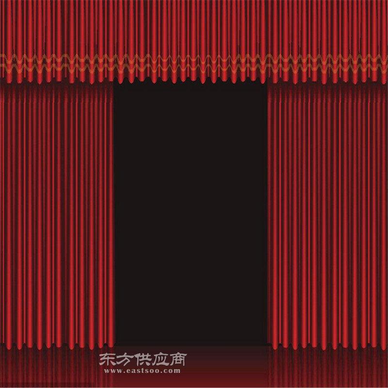 故城景县阜城定做金丝绒舞台幕布 制作金丝绒对开舞台幕布图片
