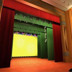 多媒体教室舞台幕布 多媒体教室电动舞台幕布图片