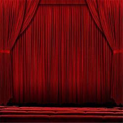 舞台幕布定做 舞台幕布搭建 舞台幕布设计价格