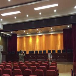 白城松原防火电动舞台幕布厂家 定做意大利绒阻燃舞台幕布图片
