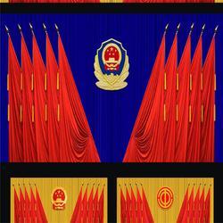 景德镇上饶舞台幕布厂家 专业生产舞台幕布的厂家按尺寸定做图片