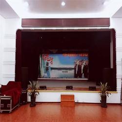 永济芮城生产舞台幕布厂家 顺达腾辉舞台幕布订做图片