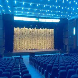 麻城红安哪里有舞台幕布 顺达腾辉舞台幕布厂家安装搭建图片