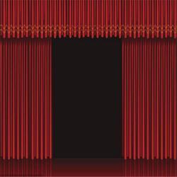 浠水团风黄州防火舞台幕布厂家 定做电动防火舞台幕布德国棉绒图片
