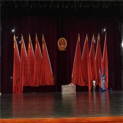 温州学校舞台幕布定制 学校电动舞台幕布厂家德国棉绒图片
