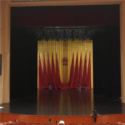泰州南通防火电动舞台幕布厂家 定做意大利绒阻燃舞台幕布