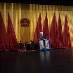 高阳蠡县清苑演出舞台幕布厂家 定做演出电动舞台幕布细心设计图片