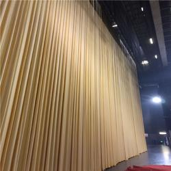 高新开平古冶定做背景电动舞台幕布 会议背景舞台幕布的工厂图片