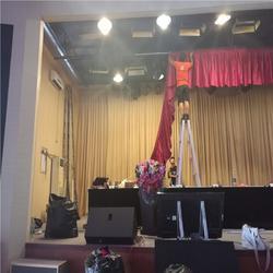 浏阳长沙生产舞台幕布厂家 顺达腾辉舞台幕布订做图片
