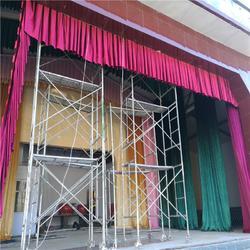 商河济阳订做影院舞台幕布 影院电动舞台幕布的厂家真丝绒图片