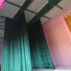 庆阳平凉定做会议室舞台幕布 会议室舞台幕布生产厂家布置会场图片