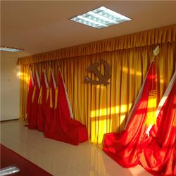 昌吉阿勒泰定做金丝绒舞台幕布 制作金丝绒对开舞台幕布图片