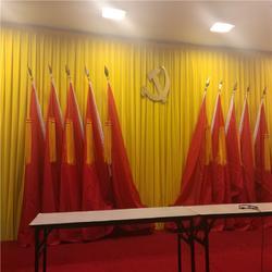 哈密吐鲁番学校舞台幕布定制 学校电动舞台幕布厂家德国棉绒图片