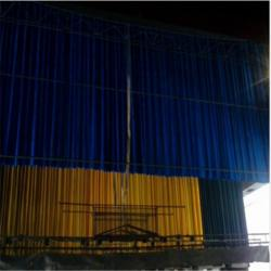 武威白银防火舞台幕布厂家 定做电动防火舞台幕布德国棉绒图片