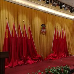 资兴桂东汝城舞台幕布厂家 专业生产舞台幕布的厂家按尺寸定做