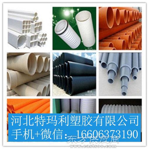 HDPE钢带缠绕管-HDPE钢带缠绕管厂家图片