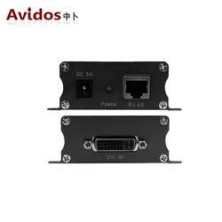 AVIDOS高清DVI转网络延长器50米dvi-d网线延长器音视频信号放大器 AD-101D图片