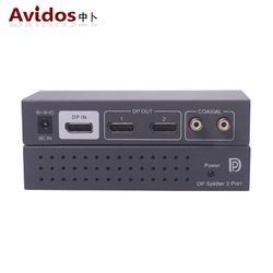 dp分配器2口 DisplayPort splitter 一分二 分屏器3840x2160 60Hz AD-102DP图片