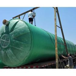 安徽华驰(图)-新农村玻璃钢化粪池-南京玻璃钢化粪池图片