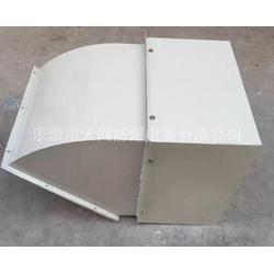 DWXE-800D6-2.2KW 防爆边墙风机配防雨罩图片