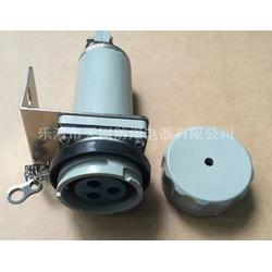 单相三极防爆插头插座 60YT-3J 60YZ-3K移动式厂家 防爆插头插座报价图片