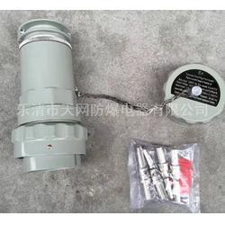 三芯防爆插头插座 60YT-3J 60YZ-3K移动式厂家 工厂专用防爆插头插座图片