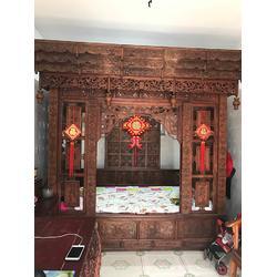 红木办公桌椅-红木办公桌-聚宝门古董转让(查看)图片