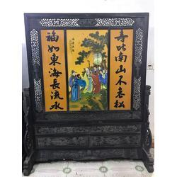 聚宝门古董收藏 红木办公桌多少钱-红木办公桌图片