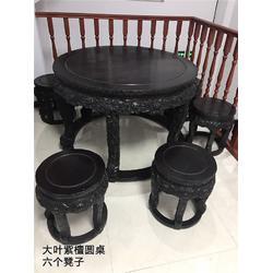 红木办公桌-聚宝门收藏古董古玩-红木办公桌收藏图片