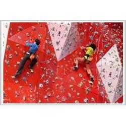 攀岩墙定制-三门峡攀岩墙 乐龙游艺设备图片
