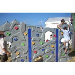 攀岩墙订制-商丘攀岩墙 乐龙游乐设备 (查看)图片