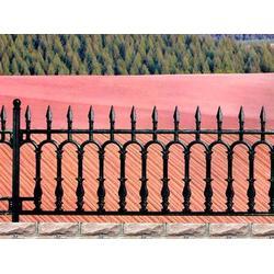 别墅铸铁护栏-山东别墅铸铁护栏-泰安市金星铁艺(查看)图片