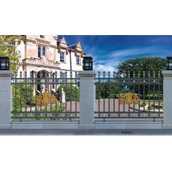 欧式铸铝护栏-东营欧式铸铝护栏-泰安市金星铁艺(查看)图片