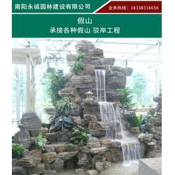 湖北龟纹石园林假山石-永城石材色泽独特图片