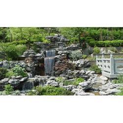 景观千层石假山-千层石假山-永诚园林石材类型丰富图片